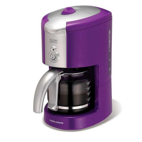 Morphy Richards Compliments Puple Filter Coffee Maker