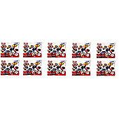 Marvel Figure Mascots Part 2 Keychain Blind Bags 10 Randomly Selected 10 Item Bundle