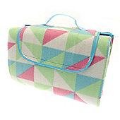Country Club Family Size Beach & Picnic Blanket 150 x 200cm, Shapes