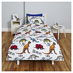 Dinosaur Single Duvet Set