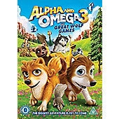 Alpha & Omega: The Great Wolf Games DVD
