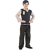 Evacuee School Boy - Child Costume 5-6 years