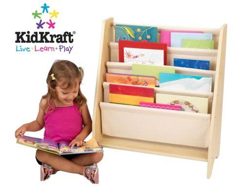 KidKraft Natural Sling Bookshelf