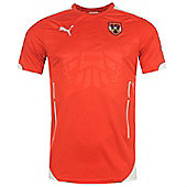 2014-15 Austria Home Puma Football Shirt - Red