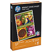 HP Bright White Inkjet A4 90Gsm Paper, 250 Sheets
