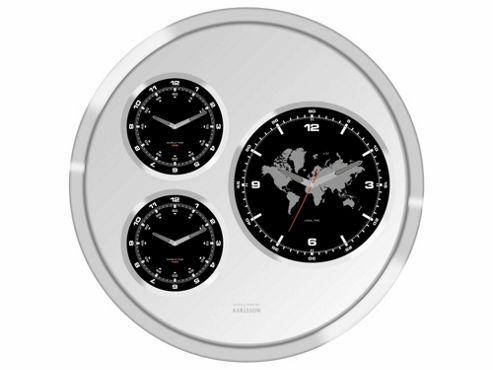Karlsson big tic worldtime clock