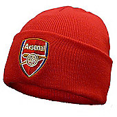 Arsenal FC Knitted Hat - Red