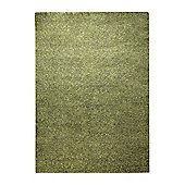Esprit Spacedyed Green Tufted Rug - 140 cm x 200 cm (4 ft 7 in x 6 ft 7 in)