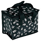 Black Skull Lunch bag