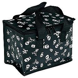 Black Skull Lunch bag