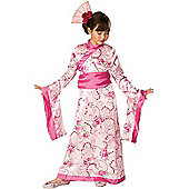 Child Geisha Princess Costume Medium