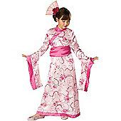 Child Geisha Princess Costume Medium