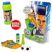 Messi Footbubbles Foot Bubbles Starter Pack (Orange Socks) Extra Refill Included