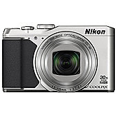 Nikon Coolpix S9900 Superzoom Digital Camera, SILVER