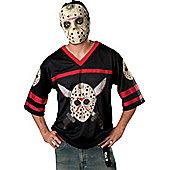 Jason Hockey Jersey & Mask