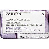 Korres Paeonia, Vanilla, Amber, Pear Soap 125g