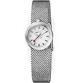 Mondaine Ladies Stainless Steel Bracelet Watch A6663032416SBAA