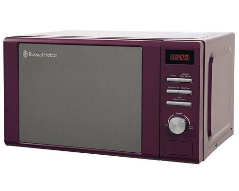 Russell Hobbs RHM2064P 800W Microwave - Purple