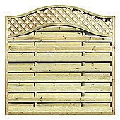 Elite St Melior Fence Panel, 1.8m - 3pack