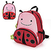 Skip Hop Zoo Pack Kids Backpack & Lunch Bag - Ladybug