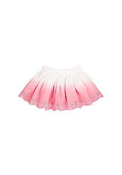 B Newborn's Dip Dye Broderie Skirt Size 18-24 months