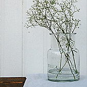 Glass etched jar
