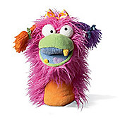 Fuzzy Wuggs Hand Puppet Toy by Manhattan Toy for 3yrs+ Girlie Pink