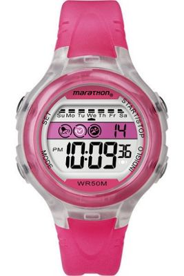 Timex Ladies Ironman Digital Strap Watch T5K425