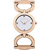 Karen Millen Ladies Swarovski Elements Watch - KM117RGM