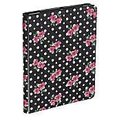 Accessorize Case/Stand for iPad 2/iPad 3 - Floral Polka Dot