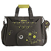 BEABA Sydney Changing Bag, Brown/Green