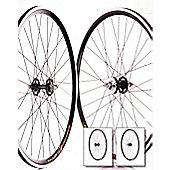 700c Flip Flop Fixie Wheelset (Pair) Black