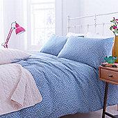 Blue Polka Housewife Pillowcase Pair