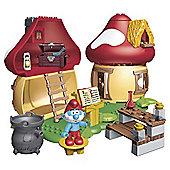 Mega Bloks The Smurfs Papa Smurfs House