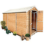 BillyOh 400M Windowless Lincoln Overlap Double Door Apex Garden Shed