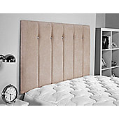 ValuFurniture Jubilee Chenille Fabric Headboard - Caramel - Small Double 4ft