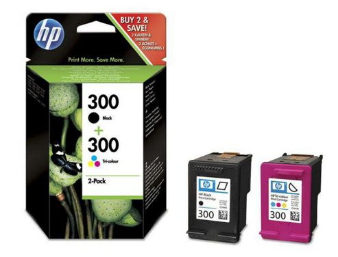 Hewlett-Packard CN637EE Colour No.301 Inkjet Print Cartridges