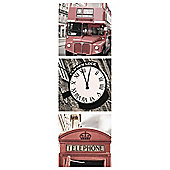 London Triptych Canvas 20X60