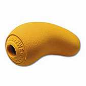 Ruff Wear Sqwash Medium Dog Toy in Sunrise Yellow