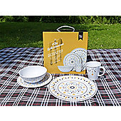 Whitbourne 16 Piece Melamine Set (4 Person)