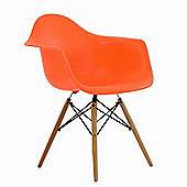 DAW Orange Dining Chair