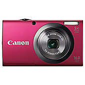Canon PowerShot A2300 Digital Camera, Red