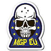 Madd Gear MGP EU Skull Sticker