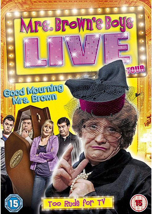 Mrs Brown's Boys Live Tour - Good Mourning Mrs Brown (Blu-Ray)