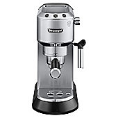 DeLonghi Dedica Pump Espress Coffee Machine,  Stainless Steel