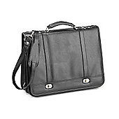 Falcon Stylish briefcase suitable for men and women with carry handle and shoulder strap