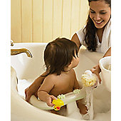 Mamas & Papas - Acqua Bath Seat - Pearl White/Soft Lime