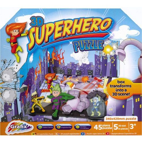Grafix 3D Super Hero Puzzle