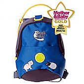 BushBaby Minipack Toddler Backpack and Rein Blue