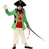 Horrible Histories Blackbeard - Child Costume 10-12 years